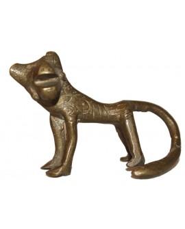 Félin en bronze du Bénin