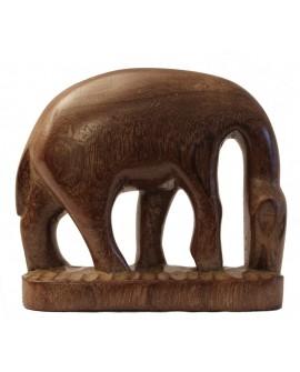 Statuette en bois - Le tamanoir