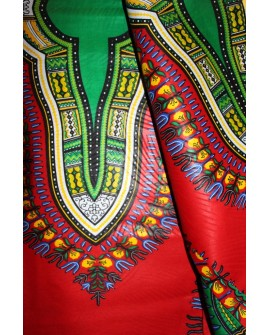 Dashiki Angelina Addis abeba. Tissu wax 100%coton