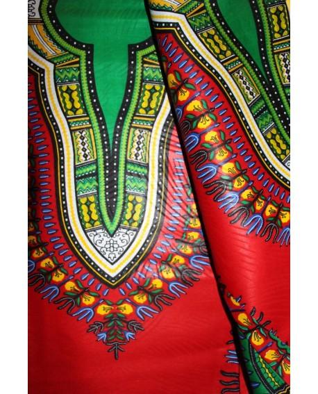 Dashiki Angelina Addis abeba. Tissu wax 100%coton