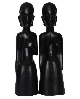 Statuette couple