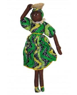 ASSIBA et AYABA poupée Afro