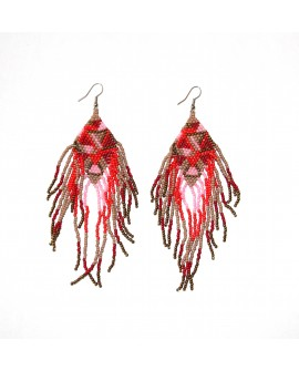 Sessi - Boucles d'oreilles en perles