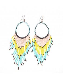 Beli - Boucles d'oreilles en perles